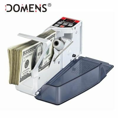 Mini Portable Handy Money Counter for most Currency Note Bill Cash Counting Mach