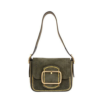 7bc3593d1284 TORY BURCH SAWYER Stud Ladies Small Suede Shoulder Bag 42111304 ...