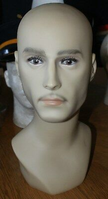 Male Head Mannequin