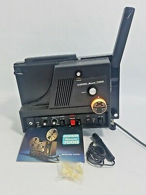 Vintage Chinon Sound 7000MV 8mm Projector Works great