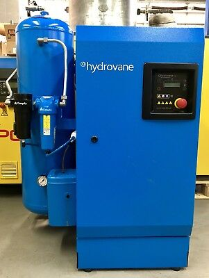 Hydrovane HV04 Rotary Vane Compressor With Air Receiver & Filters! Immaculate!