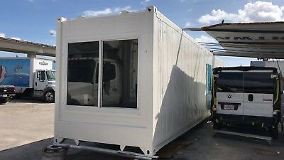 40' CONTAINER - High quality customized shipping container conversions for a tin