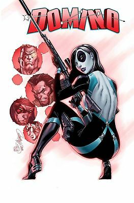 Domino #1 (1:50) J Scott Campbell Incentive Variant