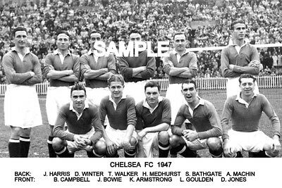 Chelsea FC 1947 Team Photo