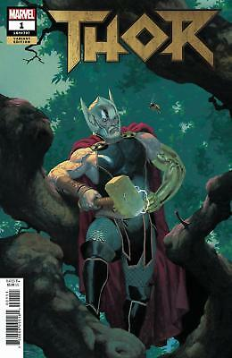 Thor #1 2018 (1:50) Esad Ribic Marvel Incentive Variant Cover