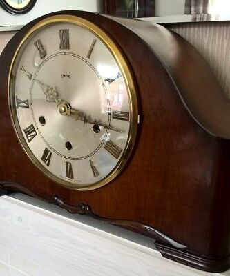 Smiths Westminster & Whittington chime clock  Fully Working See Description