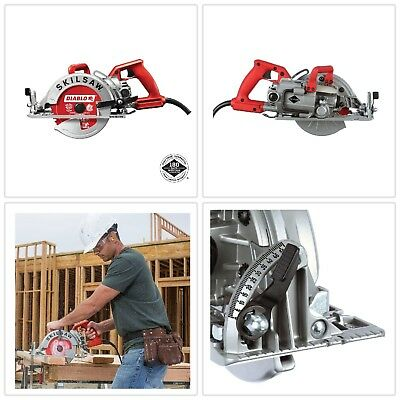 7-1/4 in. Magnesium Worm Drive Circular Saw w/ 24-Tooth 15 Amp Corded Electric