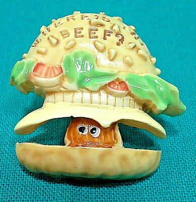 """Vintage Wendy's """"where's The Beef?"""" Pin / Tie Tac"""