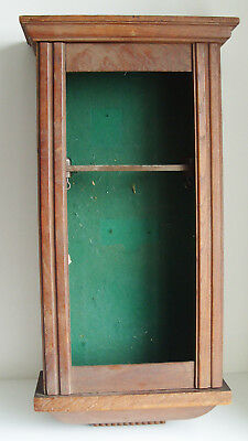 Vintage Wood Wall Clock Case For Spares Repair