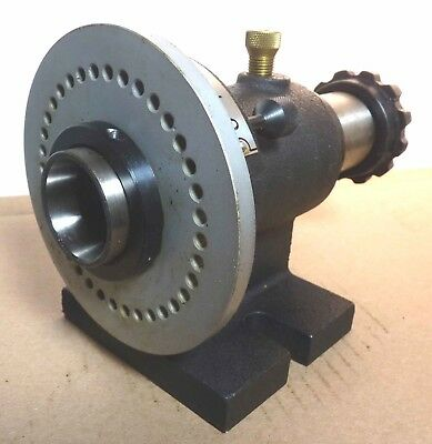 Dividing Head / Horizontal indexer / 5C Collet Closer with Index Plate.