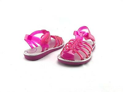 59e760d60f54 Stride Rite Natalie Magenta Girls Pink Rubber Summer Sandals US 10 M Shoes   A315
