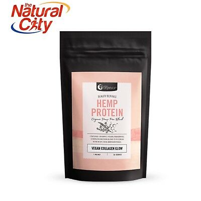 Nutra Organics Hemp Protein Beauty Berries 1kg - Free Shipping