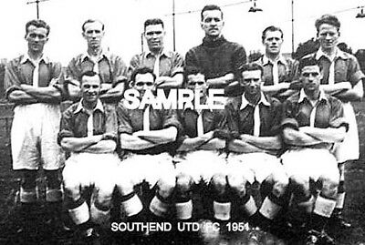 Southend Utd FC 1951 Team Photo