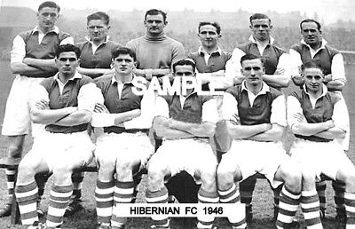 Hibernian FC 1946  Team Photo