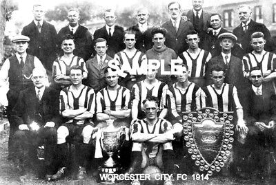 Worcester City FC 1914 Team Photo