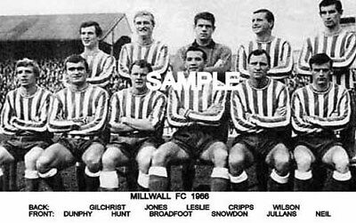Millwall FC 1966 Team Photo