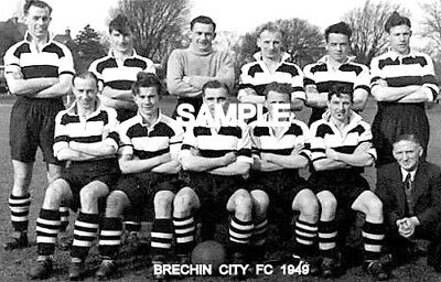 Brechin City FC 1949 Team Photo