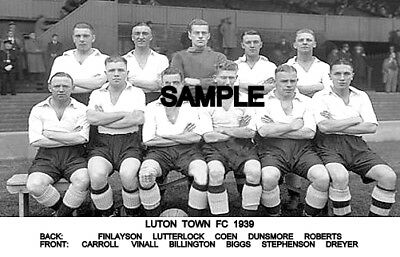 Luton Town FC 1939 Team Photo