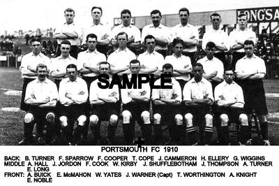 Portsmouth FC 1910 Team Photo