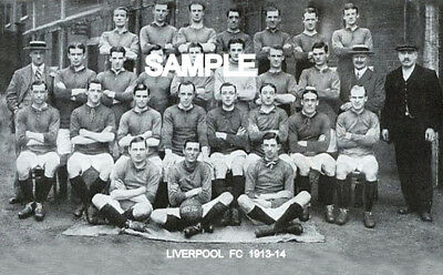 Liverpool FC 1913 Team Photo