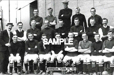 Swindon Town FC 1911 Team Photo