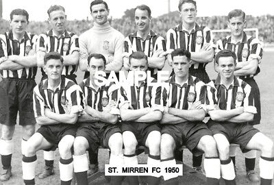 St. Mirren FC 1950 Team Photo