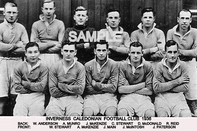 Inverness Caledonian FC 1936 Team Photo