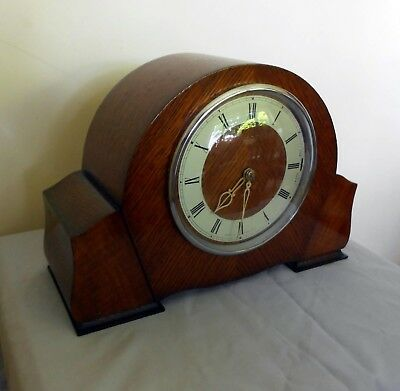Stunning Vintage Smiths Sectric Chiming Mantle Clock (working)