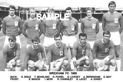 Wrexham FC 1968 Team Photo