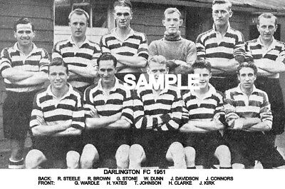 Darlington FC 1951 Team Photo