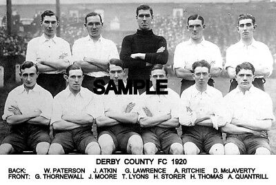 Derby County FC 1920 Team Photo