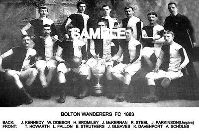 Bolton Wanderers FC 1883 Team Photo