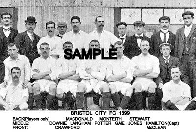 Bristol City FC 1899 Team Photo