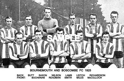 Bournemouth and Boscombe FC 1925 Team Photo