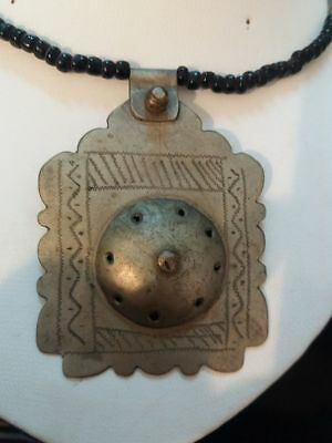 Ancient VIKING OLD Silver NECKLACE Pendant  museum  ARTIFACT VERY AMAZING