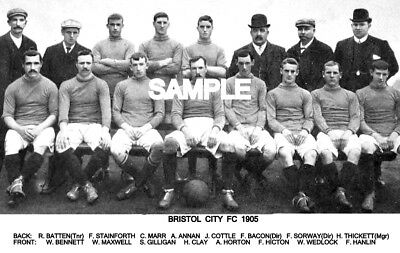 Bristol City FC 1905 Team Photo