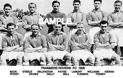 Tranmere Rovers FC 1955 Team Photo