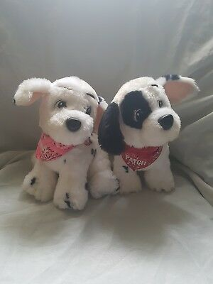 1990s mattel 101 dalmations penny and patch soft toy
