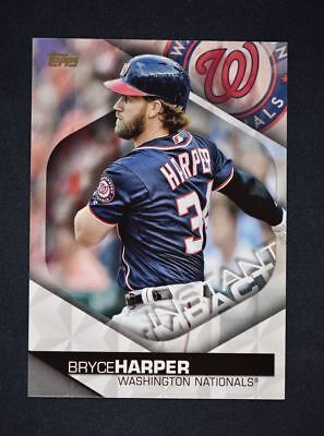 2018 Topps Series 2 Instant Impact #II-19 Bryce Harper