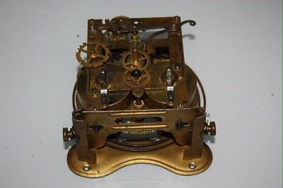 (D11) Altes Uhrwerk für Wanduhr Regulator um 1900