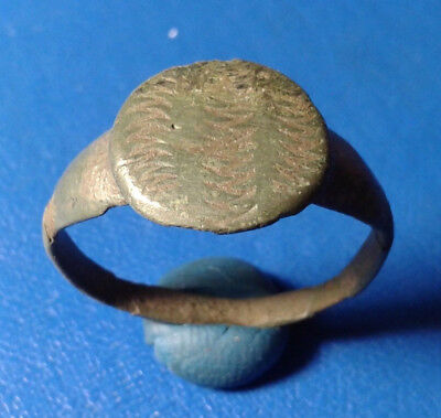 Ancient Bronze Viking Ring.