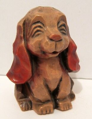 Puppy Dog Bank - Smiling Floppy Ears - Vintage - Stuckey Sticker