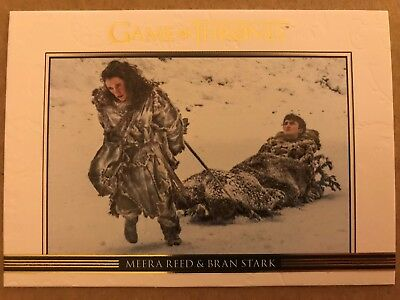 Game Of Thrones - Season 7: Relationships Chase Card: Gold Parallel: Card Dl48