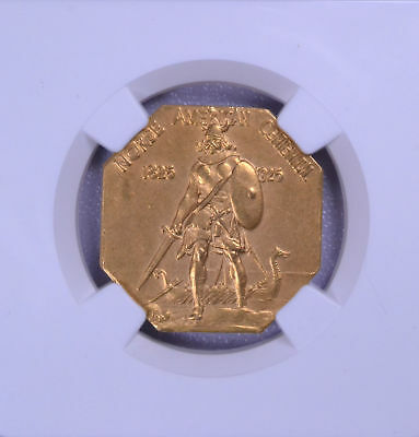 1925 Norse American Medal Gold NGC PF 65 Matte 4194456-003