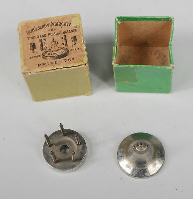 Vintage Marsh Screw Undercutter with Extra Watchmaker Tools Watch Antique