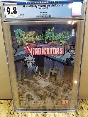 Rick And Morty Presents: The Vindicators #1 (Fried Pie Edition) Cgc 9.8 Nm/mt