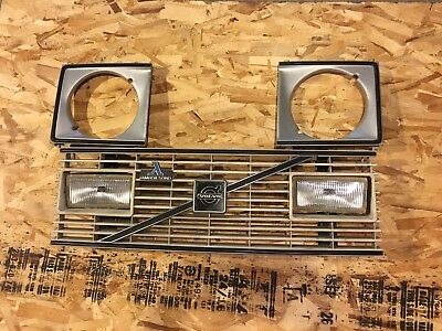 Mint Volvo 242gt Complete Grill Buckets Fog Lights Brackets / 242 240 Turbo Gt