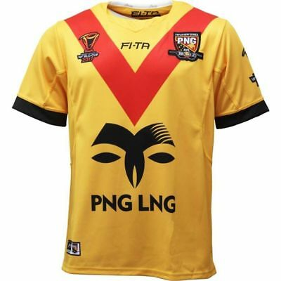 PAPUA NEW GUINEA 2017 World Cup rugby jersey shirt - (S-3XL)