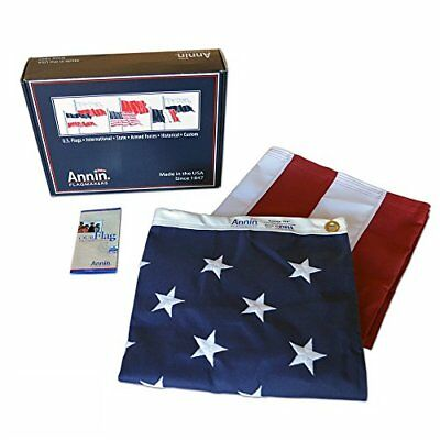 American Flag 4x6 ft by Flagmakers  Made in USA  Sewn Stripes, Embroidered Stars