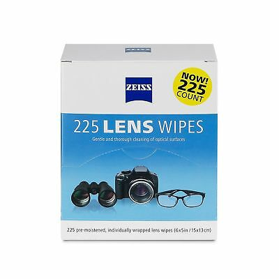 Zeiss Lens Cleaning Wipes, 225 CT. Gentle and Thorough Cleaning...
